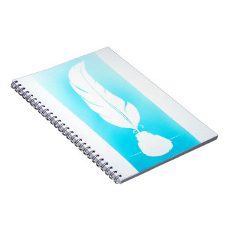 Feather note book