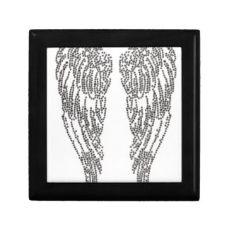Feather of angel gift box