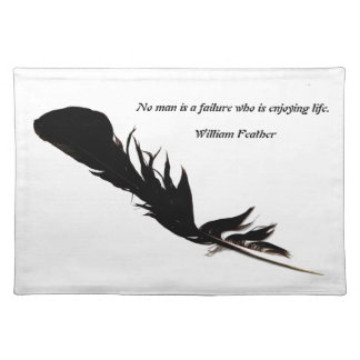 feather placemat