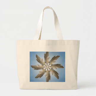 Feather Ring Canvas Bags