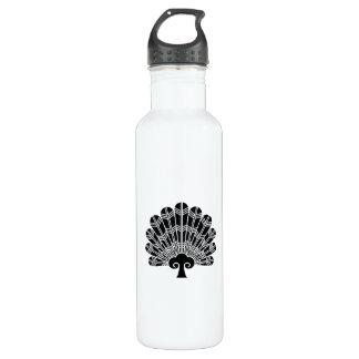Feather round fan of 鷹 710 ml water bottle