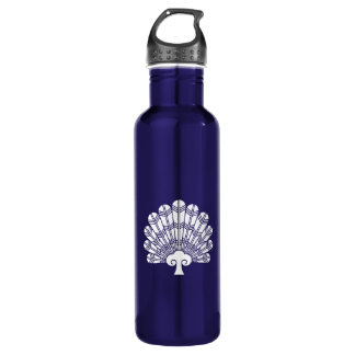 Feather round fan of 鷹 710 ml water bottle