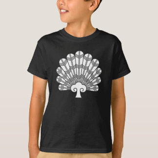Feather round fan of 鷹 T-Shirt