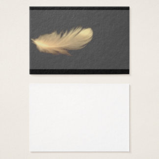 Feather WingThick Business Cards