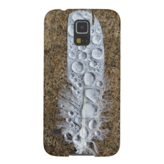 Feather With Droplets Phone Cover Galaxy S5 Covers