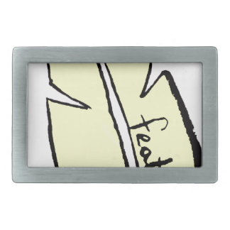 feather yellow belt buckle