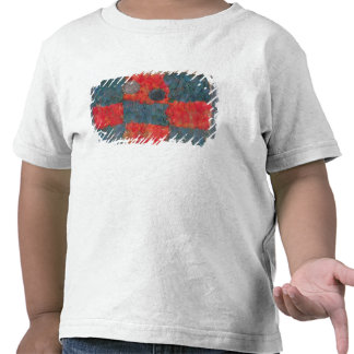 Feathered cape tee shirts