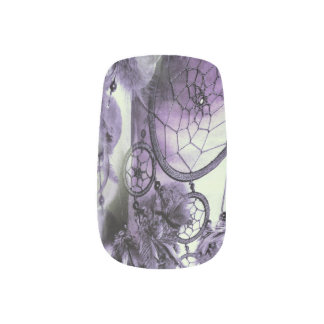 Feathered Dreams Minx Nail Art