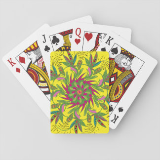 Feathered Leaf Playing Cards