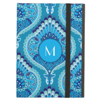 Feathered Paisley - Blueish Case For iPad Air