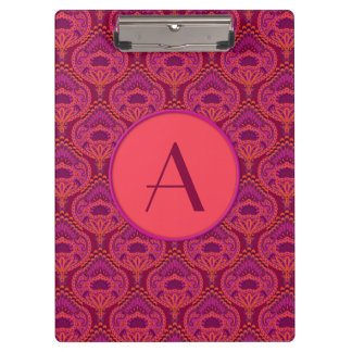 Feathered Paisley - Pinkoinko Clipboard