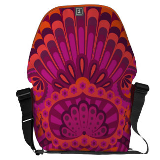 Feathered Paisley - Pinkoinko Commuter Bags