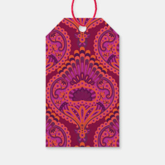 Feathered Paisley - Pinkoinko Gift Tags