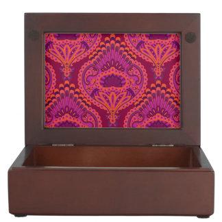 Feathered Paisley - Pinkoinko Keepsake Box