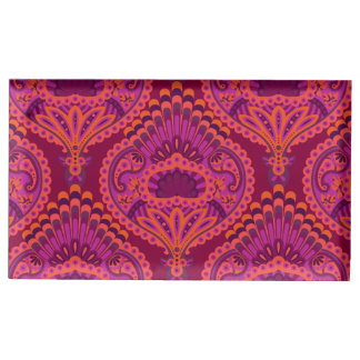 Feathered Paisley - Pinkoinko Place Card Holder