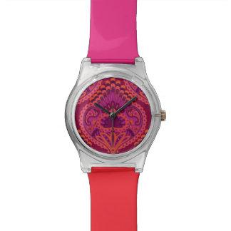 Feathered Paisley - Pinkoinko Watch