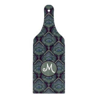 Feathered Paisley - Winter Forest Cutting Board