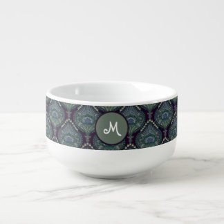 Feathered Paisley - Winter Forest Soup Mug