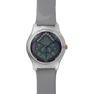 Feathered Paisley - Winter Forest Watch