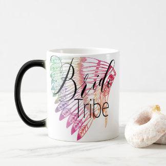 FEATHERED RAINBOW TRIBAL BRIDE TRIBE MAGIC MUG