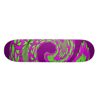 Feathered Swirl 18.1 Cm Old School Skateboard Deck