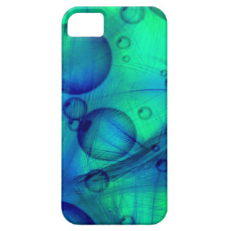 Feathers and Bubbles iPhone 5 5S Cases