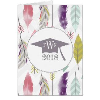 Feathers + Arrows 2018 Graduation Announcement