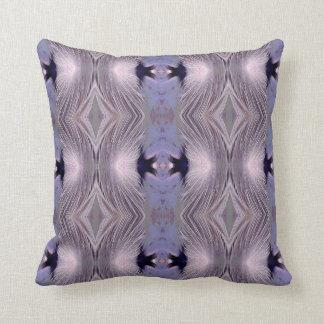 Feathers Diamond Pattern Cushion