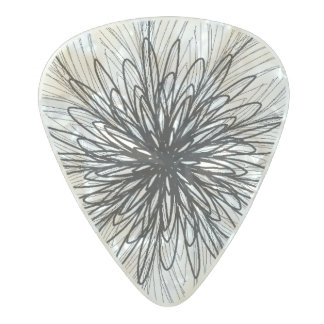 Feathers Guitar Pick Pearl Celluloid Guitar Pick