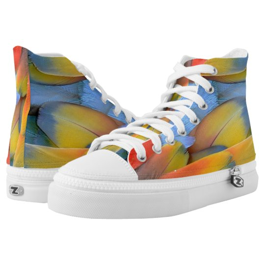 feathers high tops