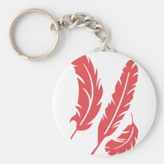 Feathers Key Ring