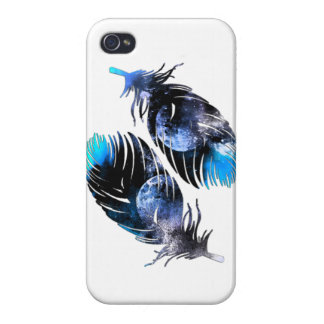 Feathers Of The Night Covers For iPhone 4