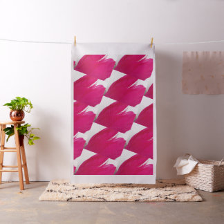 Feathery Fuchsia Fabric