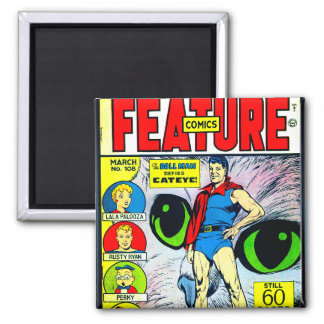 Feature Comics #108 Square Magnet