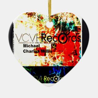 feature_graphics 1.5 VCVH Records Enterprise Ceramic Ornament