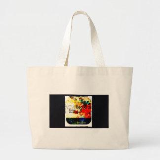 feature_graphics 1.5 VCVH Records Enterprise Large Tote Bag