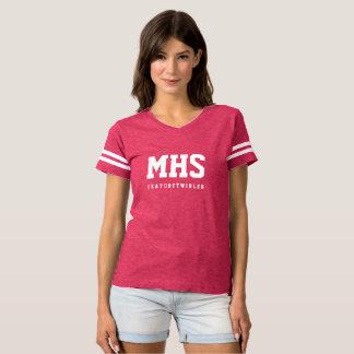Feature Twirler Football Inspired T Shirt