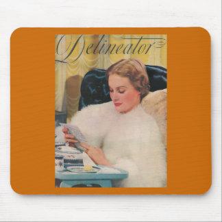 feb delineator magazine cover mousepad