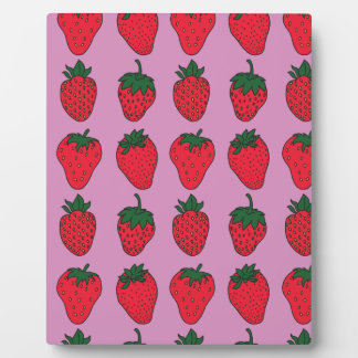 February 27th - Strawberry Day Plaque