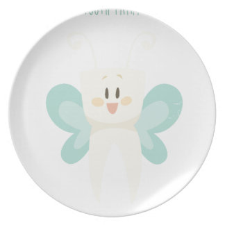 February 28th - Tooth Fairy Day - Appreciation Day Plate