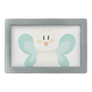 February 28th - Tooth Fairy Day - Appreciation Day Rectangular Belt Buckles