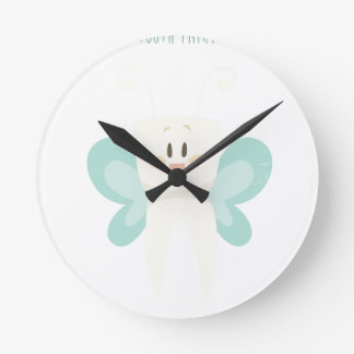 February 28th - Tooth Fairy Day - Appreciation Day Round Clock