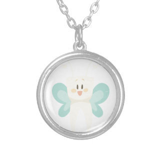 February 28th - Tooth Fairy Day - Appreciation Day Silver Plated Necklace