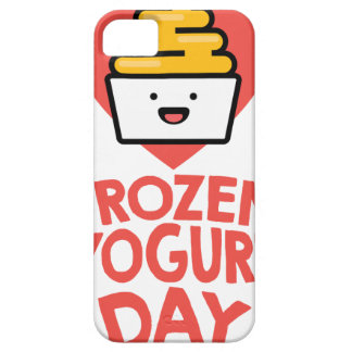 February 6th - Frozen Yogurt Day iPhone 5 Covers