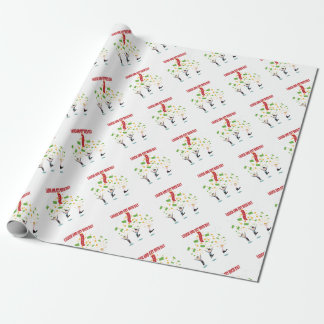 February 8th - Laugh And Get Rich Day Wrapping Paper