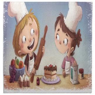 February - Bake For Family Fun Month Napkin