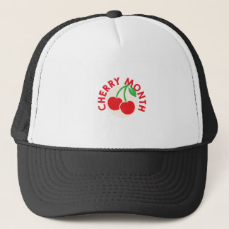 February - Cherry Month - Appreciation Day Trucker Hat