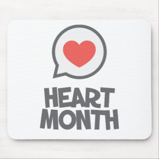 February - Heart Month - Appreciation Day Mouse Pad