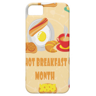 February is Hot Breakfast Month - Appreciation Day Case For The iPhone 5