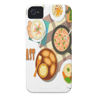 February is Hot Breakfast Month iPhone 4 Covers